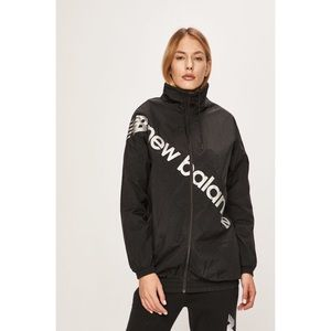 New Balance Black Oversized Nylon Jacket S & M